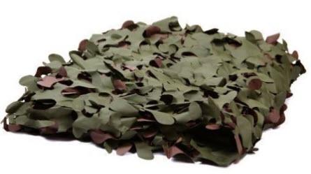 Il miglior telo mimetico impermeabile e con foglie per for Rete con foglie finte